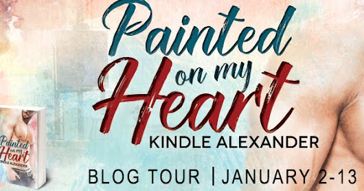 New Release Blog Tour and Review | Painted On My Heart by Kindle Alexander | #NEW #Review #MMRomance