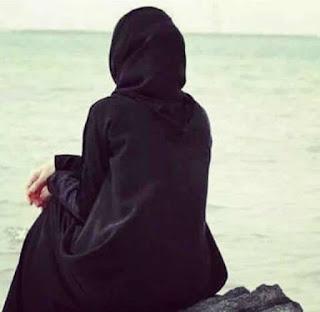 Gambar Sedih Wanita Berhijab Catatan Adel