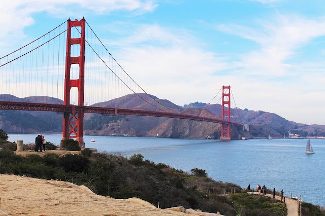 Golden Gate Bridge, San Francisco - California travel blog