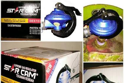 Review Regulator Gas Starcam, Mudah Bocor? Bunyi?