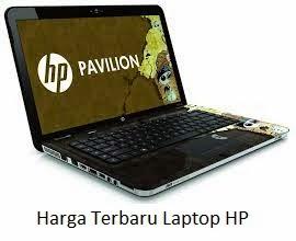 Daftar Harga Terbaru Laptop HP