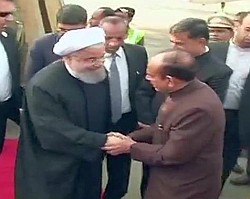 iranian-president-hasan-rouhani-arrived-in-hyderabad