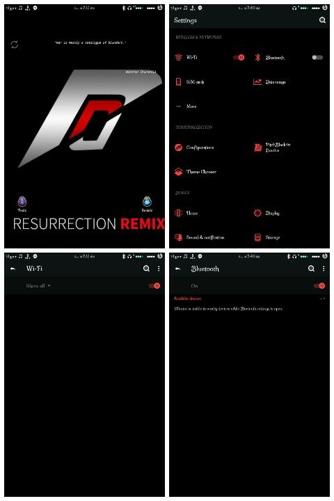 MT6580 ROM: Resurrection remix v5 5 9 Gionee M5 mini - TechubNG