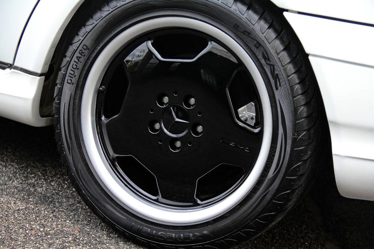 Mercedes-Benz C43 AMG W202 White on Black   BENZTUNING