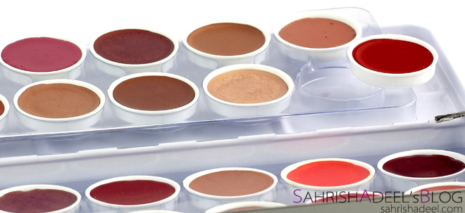 Lip Color Palette by Stageline Cosmetics - Review & Swatches