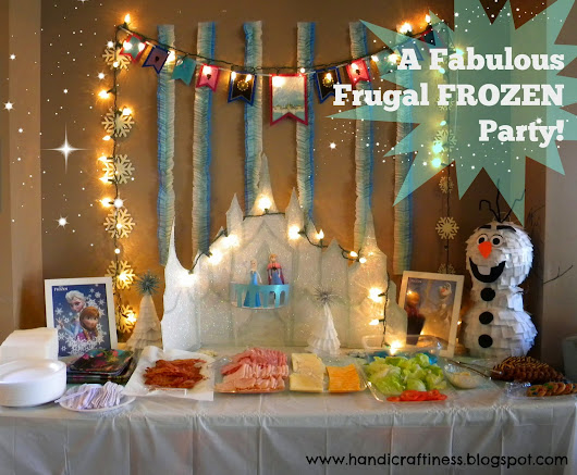 A Frugal Frozen Party (for under $20!)