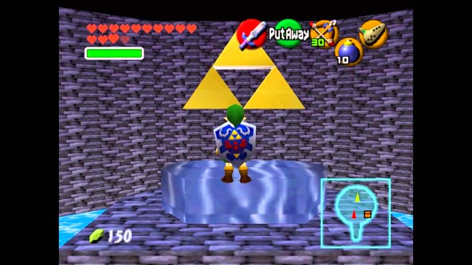 Random things: Rom hacks of The legend of zelda: Ocarina of time