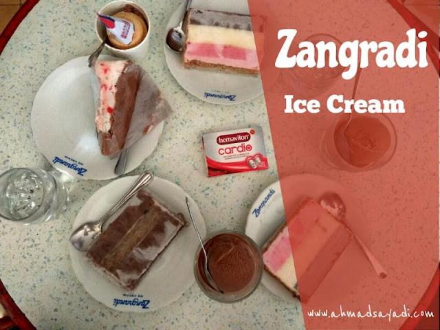 Ice Cream Zangradi Surabaya