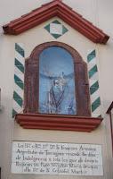 Sanr Cristòfol a la plaça Lledoners de Vilanova i la Geltrú
