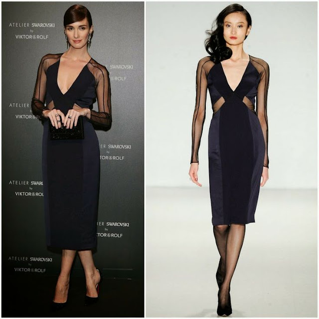 Paz Vega in Pamella Roland – Swarovski and Viktor & Rolf Party