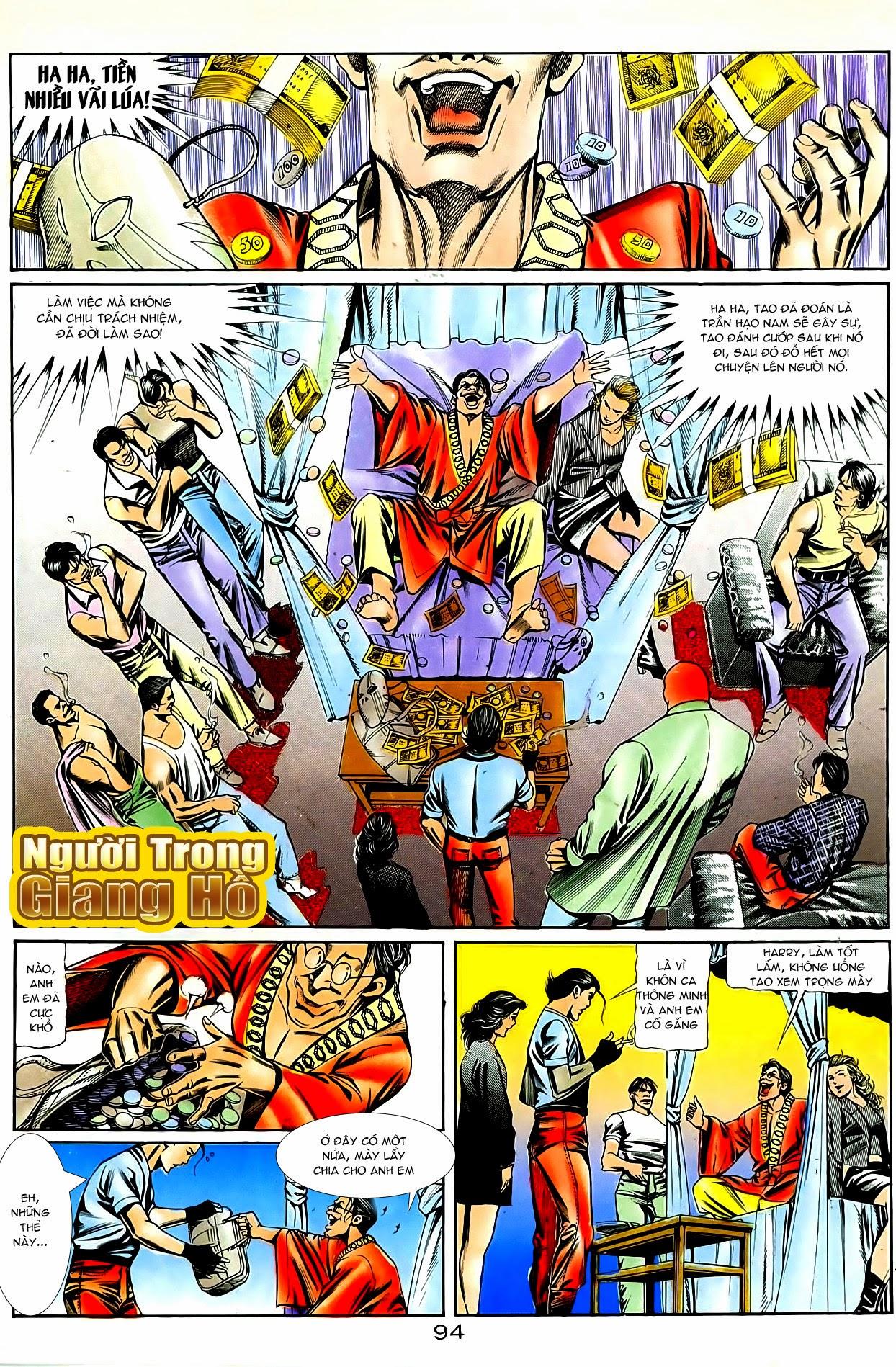 Người Trong Giang Hồ chapter 87: chống lưng của a khôn trang 8