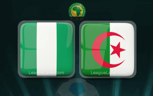 مباراة الجزائر ونيجيريا بث مباشر