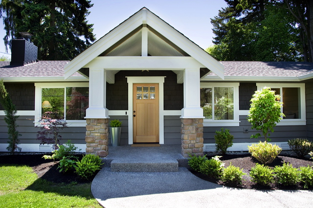 Maple Leaves & Sycamore Trees: House Exterior Update