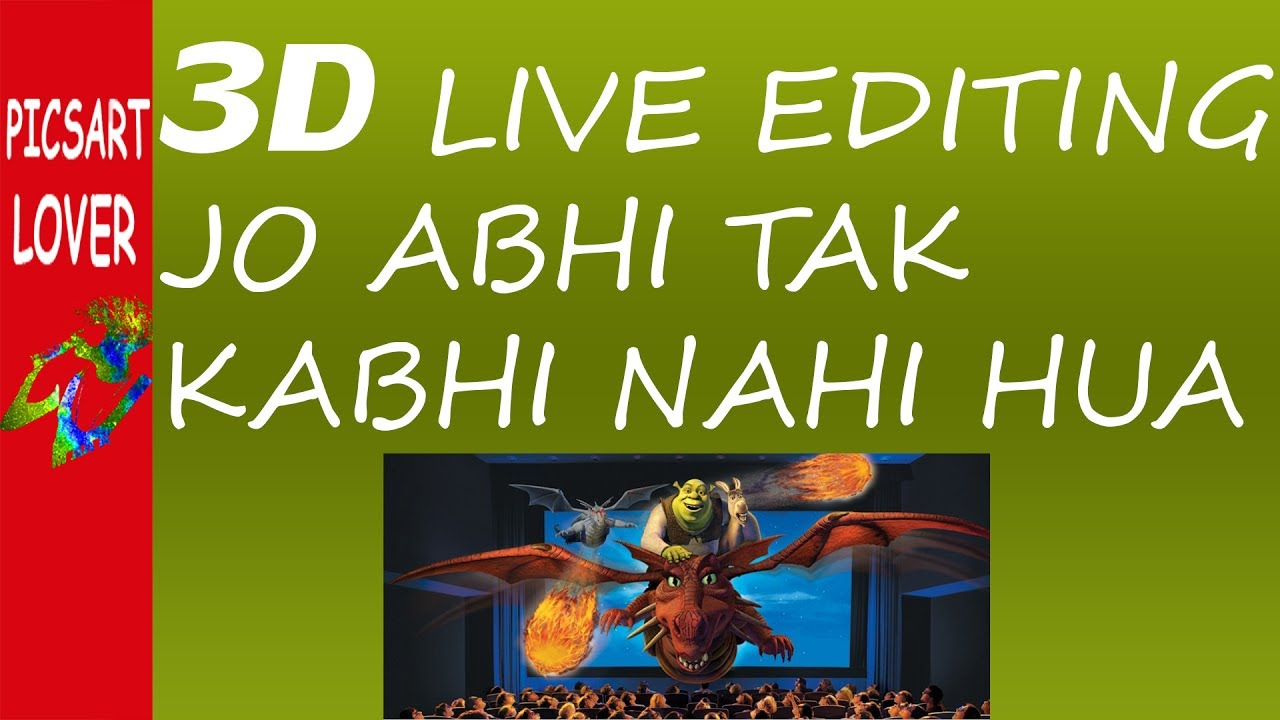 3d editing app free download mobile 3d live editing app