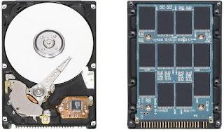 Laptop SSD és HDD összehasonlítása