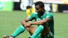 Mikel Obi angry