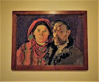 Stanisław Wyspiański - Portret artysty z żoną 1904