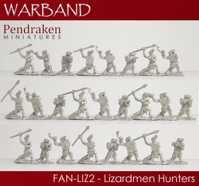 FAN-LIZ2 - 25 x Lizardmen Hunters