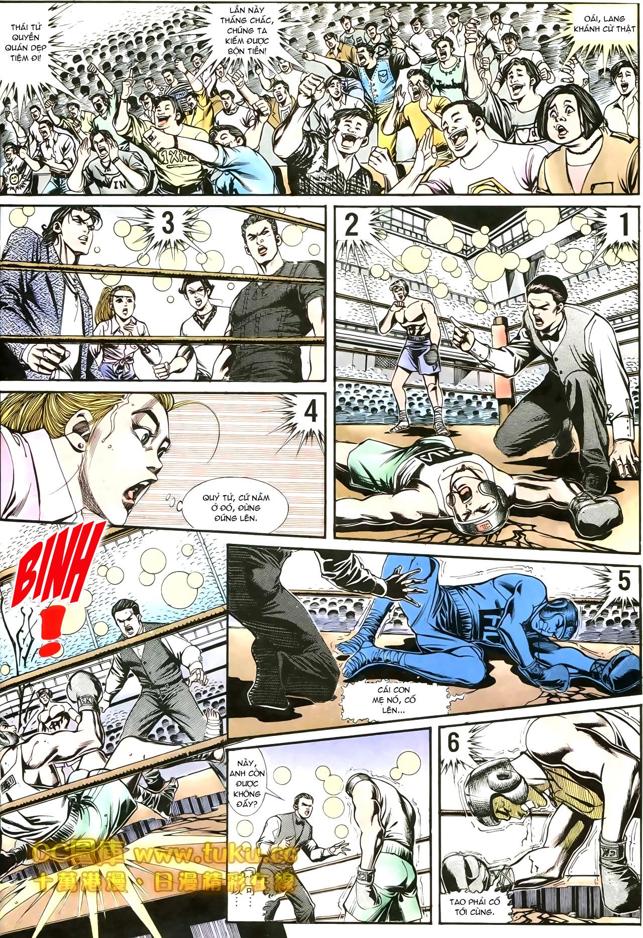 Người Trong Giang Hồ chapter 188: chiến nô trang 21