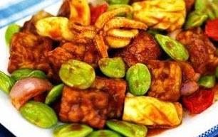 Resep sambal goreng petai dan cumi yang lezat