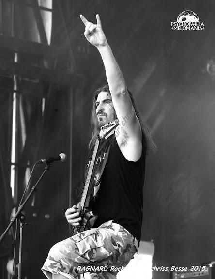 Hysteria @Ragnard Rock Fest 2015, Simandre-sur-Suran 17/07/2015