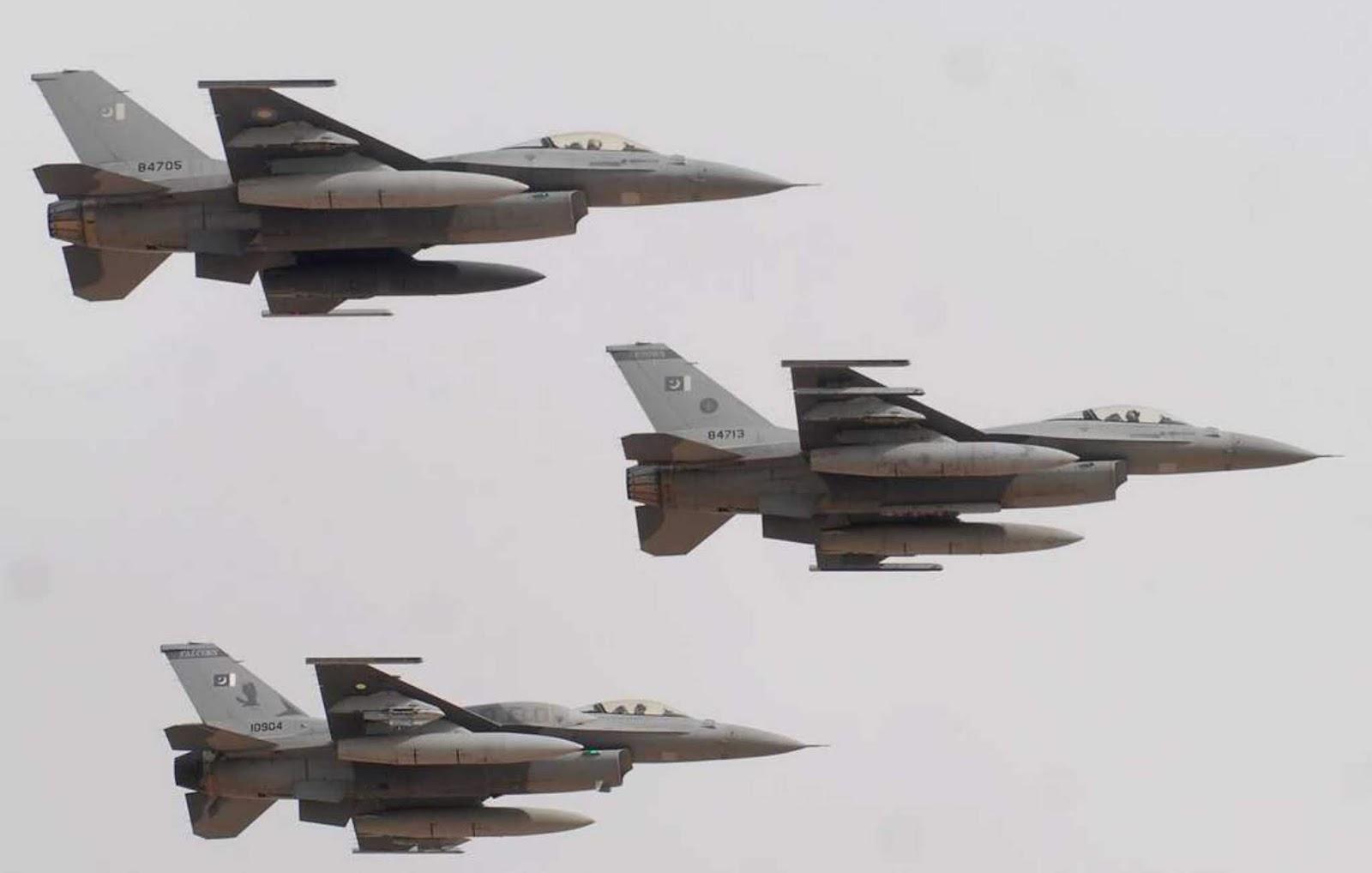 AS akan mempelajari keterlibatan F-16 Pakistan dalam serangan ke India karena melanggar perjanjian