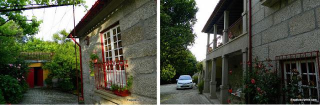 hospedaria rural Casa São Faustino de Fridão, em Amarante