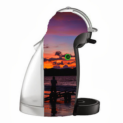 "TianChad's NESCAFE Dolce Gusto Design 4 - ""Strive Harder for Another Awesome Sunset"""