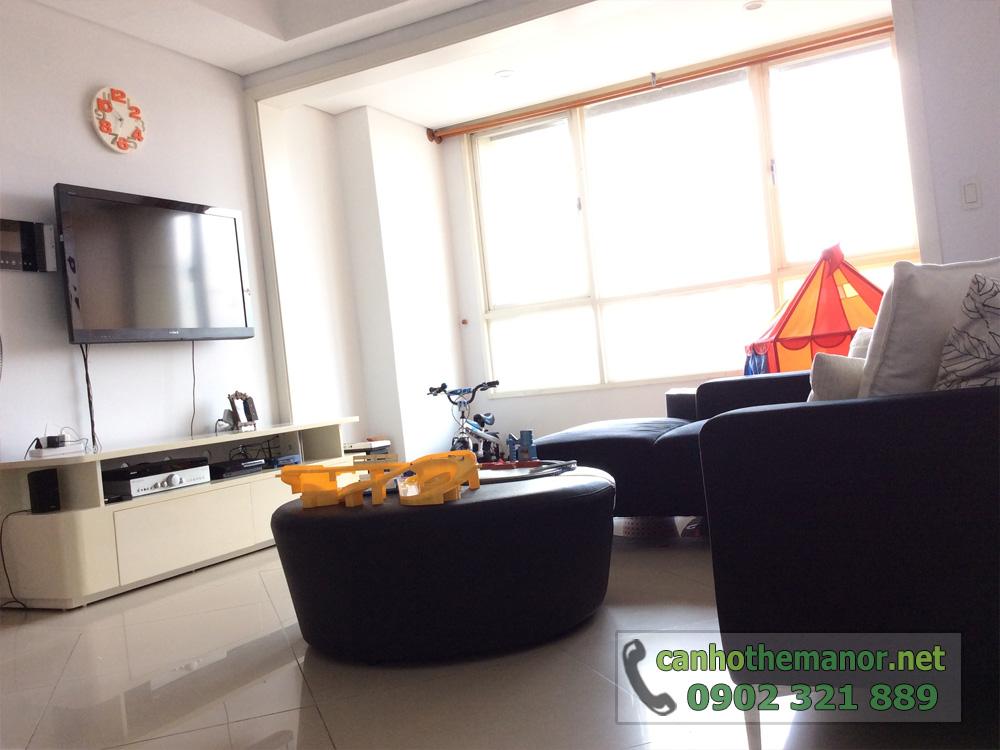 Bán căn hộ The Manor 100m2 đủ đồ nội thất 2PN - hình 3