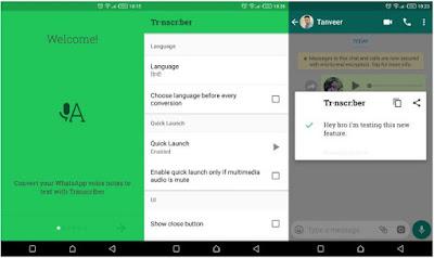 Cara Merubah Pesan Suara WhatsApp Menjadi Teks