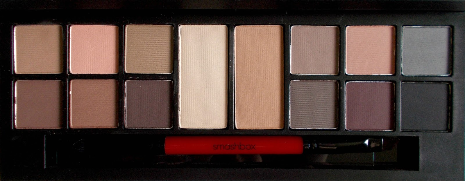 Smashbox Photo Matte Eyes eyeshadow palette review