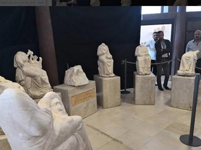 Τα ελληνικά αγάλματα που αποκαλύφθηκαν στην αρχαία  Γέρασα