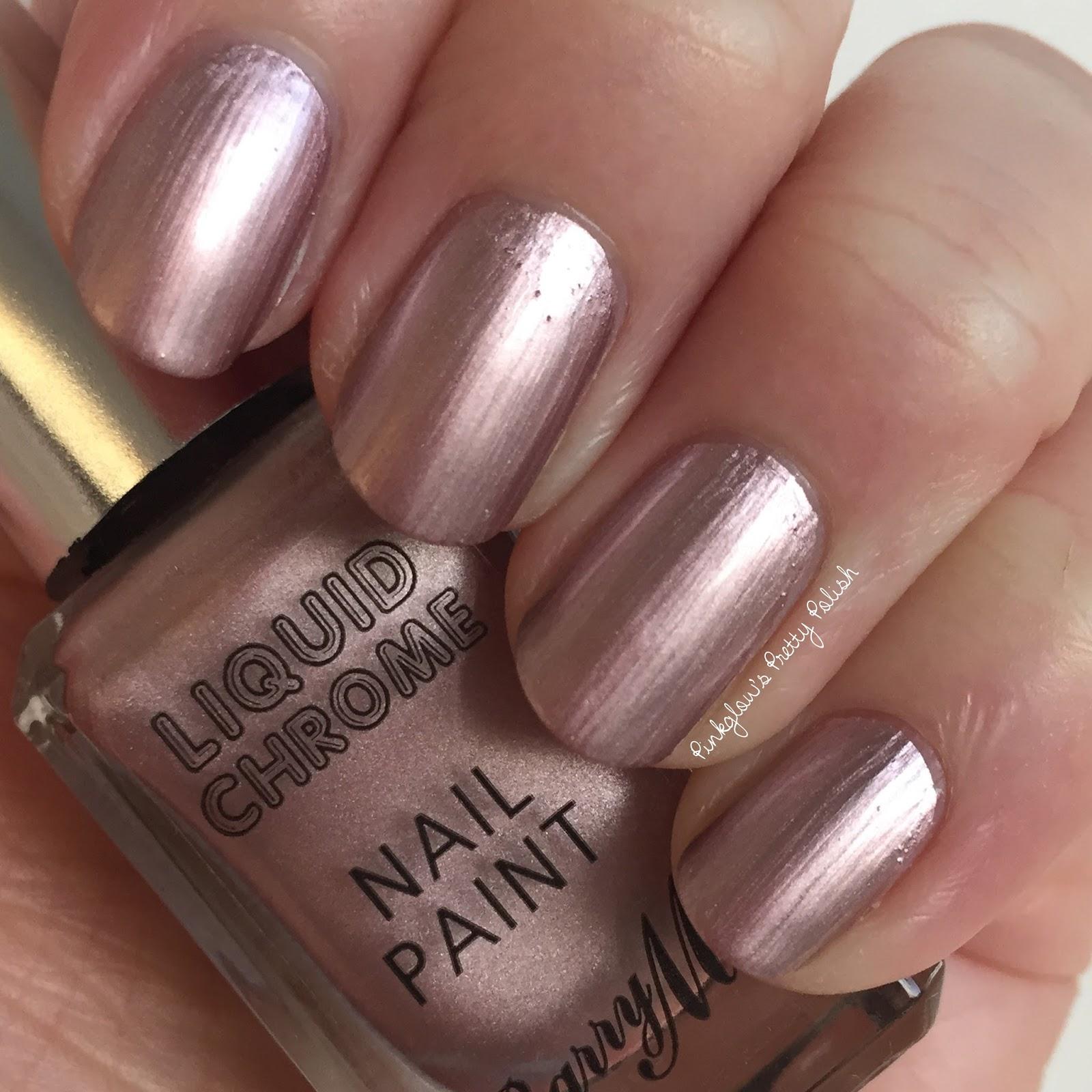 Pinkglow\'s Pretty Polish | UK Nail Art Blog: Barry M Liquid Chrome
