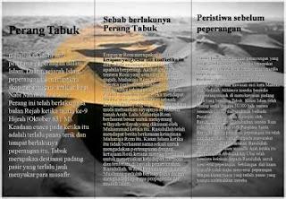 Perang Tabuk dan Kaab bin Malik