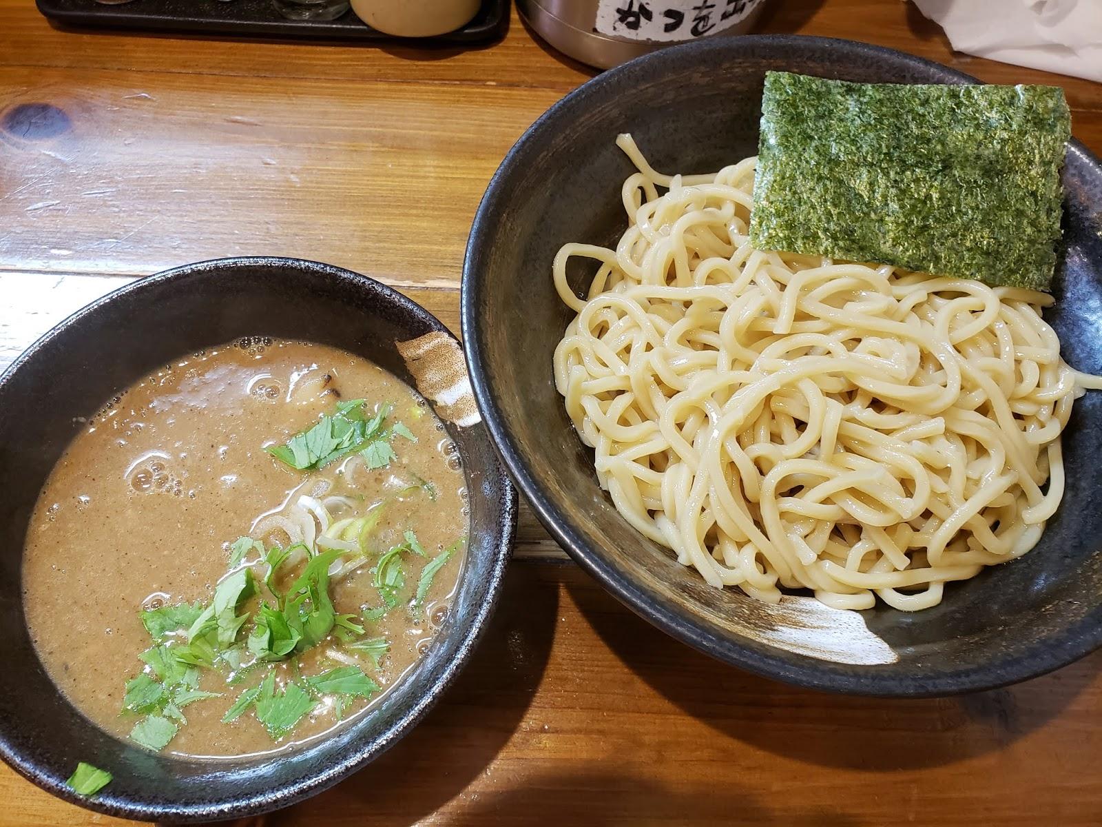 濃厚つけ麺(新栄 中華そば桜)