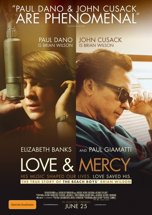 Love and Mercy movie poster
