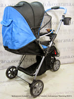 BabyDoes CH292 Jogger X Three Wheel Baby Stroller with Reversible Handle
