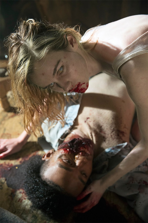 "Primer zombi de ""Fear the Walking Dead"" 1x01"
