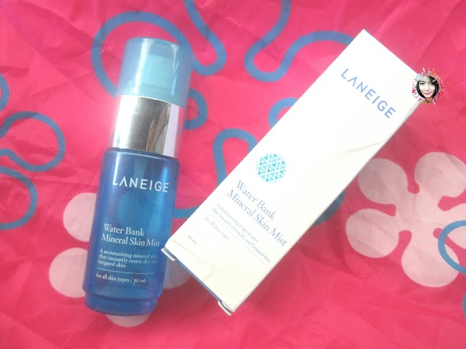 Review Laneige Water Bank Mineral Skin Mist