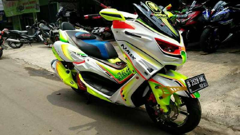 foto nmax modif cross