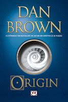 Origin by Dan Brown book cover and review