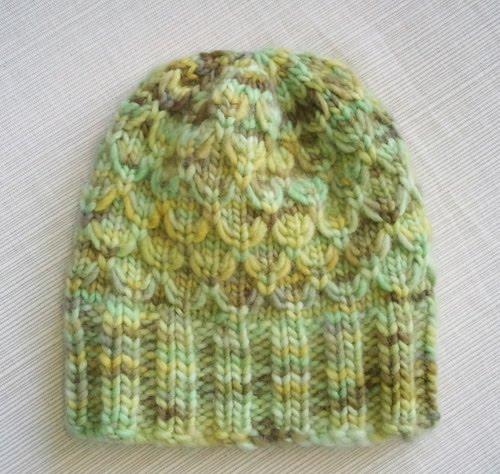 LuluKnits: Mock Honeycomb Baby Hat