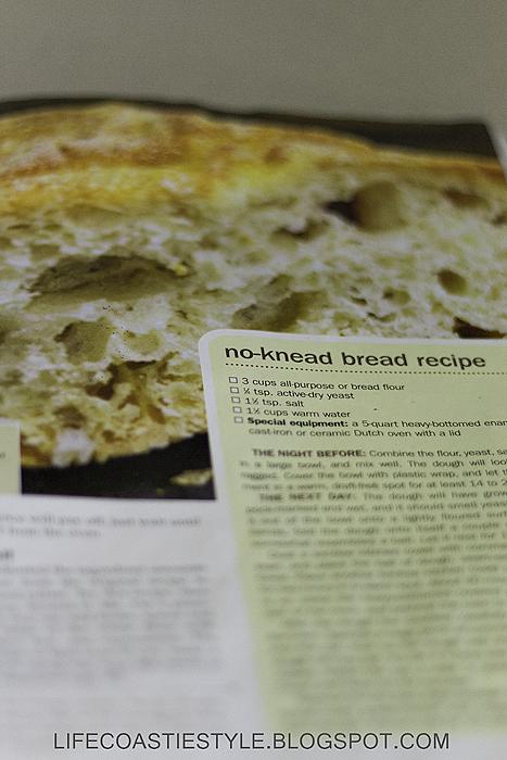 Life Coastie Style No Knead Bread Recipe Baltimore