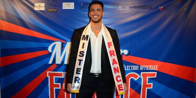 Mister France 2016 a été élu !