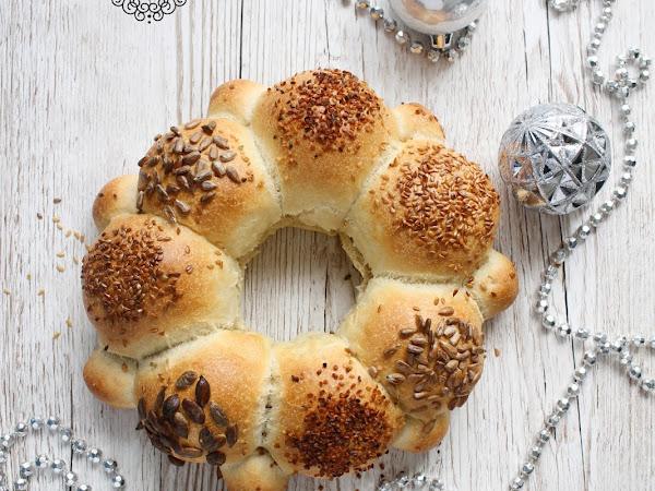 Corona di pane ai semi
