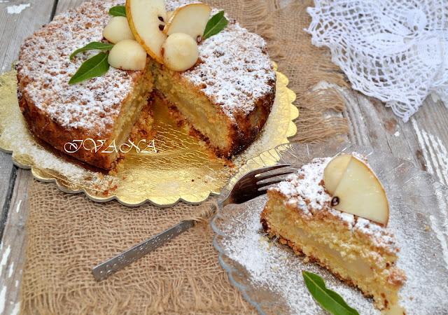 Маслен пай с круши - Sbriciolata di pere