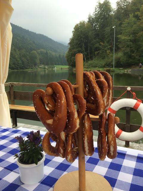 Heart-shaped pretzels, Texas wedding in Germany, Bavaria, Garmisch-Partenkirchen, Riessersee Hotel, wedding destination location, wedding planner Uschi Glas, alps and lake-side wedding