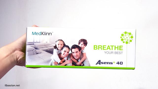 MedKlinn Asens +40 Home Air Sterilizer