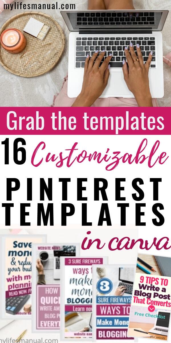Pinterest templates, Pinterest pins. Pinterest graphics.