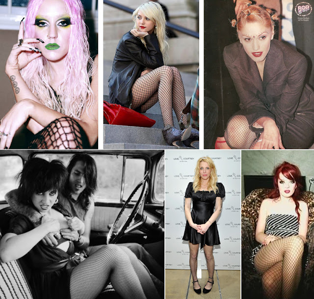 brooke candy, taylor momsen, gwen stefani, courtney love, shirley manson